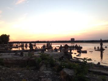 Balancing Stones, Remic Rapids, Ottawa