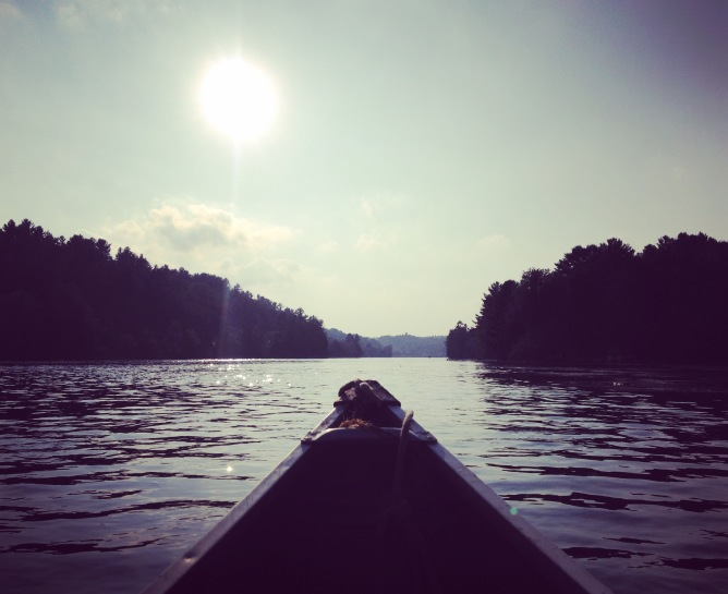 A micro-adventure on the Gatineau River