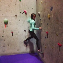 First Bouldering Comp, (Photo cred: Chloe Kerzner)
