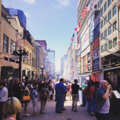 Ottawa Rib Fest, Sparks Street