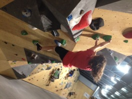 Climbing things! (Photo cred: Paige Goodwin)
