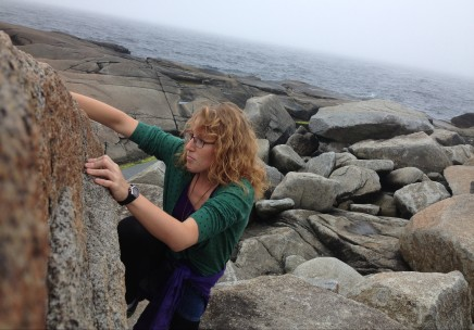 Getting lost in the rocks at Peggy's Cove