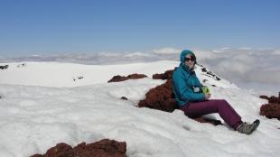 Me on Mount Ngauruhoe