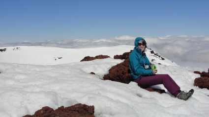 Me on Mount Ngauruhoe